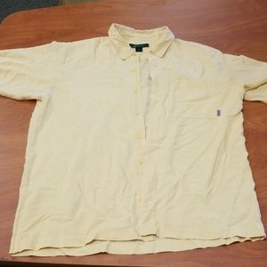 Eastern Mountain Sports Casual Button Up T-Shirt